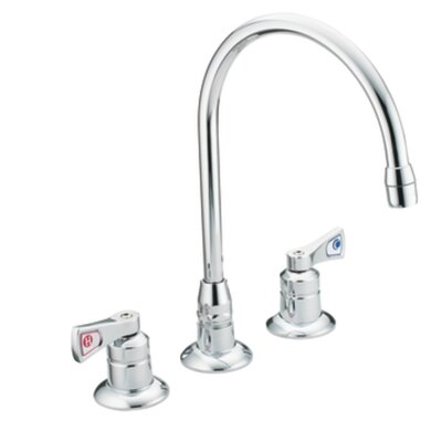 Commercial Widespread Bathroom Faucet with Cold and Hot Handles - 8227