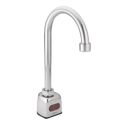 Gooseneck Single Hole Electronic Faucet Less Handles - 8303