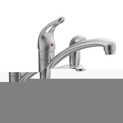 Moen Chateau One Handle Low Arc Kitchen Faucet