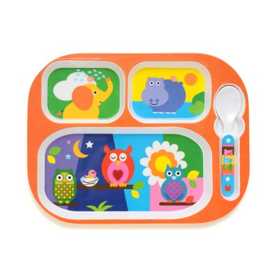 French Bull Animals Everyday Baby Tray
