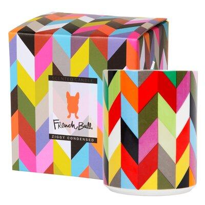 French Bull Ziggy Cinnamon / Musk / Cedar Pillar Candle