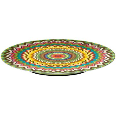 French Bull Mosaic Lazy Susan