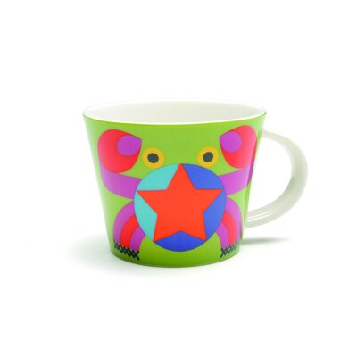 French Bull Cancer Porcelain Mug