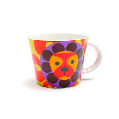 French Bull Leo Porcelain Mug