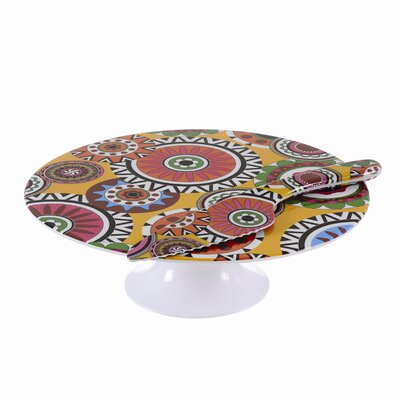French Bull Sunshine Wheel Cake Stand