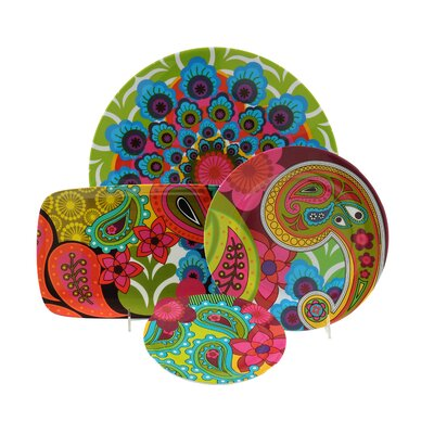 "French Bull Raj 8"" Side Plate (Set of 4)"