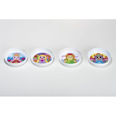 French Bull Princess Kids Bowls (Set of 4)