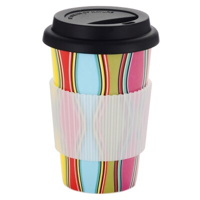 French Bull Wave Travel Mug