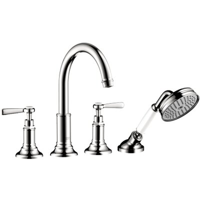 Hansgrohe Axor Montreux 4 Hole Roman Tub Trim with Lever Handle