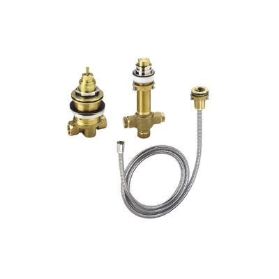 Hansgrohe Rough Valve for Three Hole Thermostatic Trim