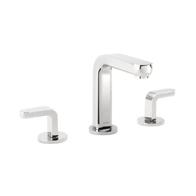 Metris S Widespread Bathroom Faucet with Double Lever Handles - 31067