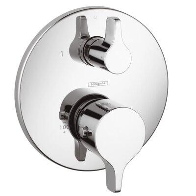 Hansgrohe Thermostatic Shower Faucet Diverter with Volume Control