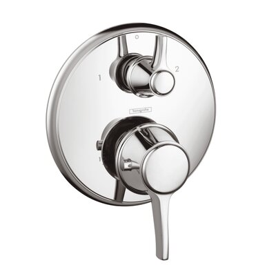Hansgrohe C Thermostatic Shower Faucet Diverter with Volume Control