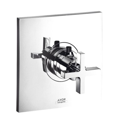 Hansgrohe Axor Citterio Thermostatic Shower Faucet Trim with Cross Handle
