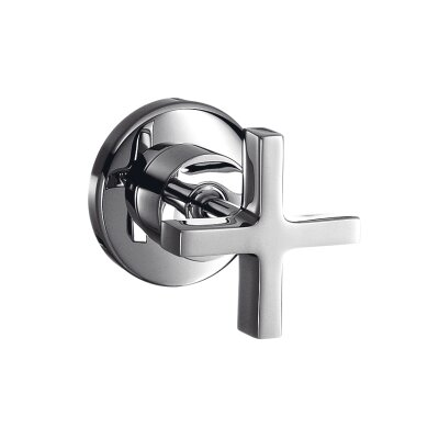 Hansgrohe Axor Citterio Volume Control Shower Faucet Trim with Cross Handle