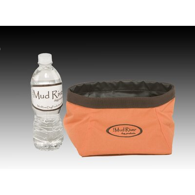 Mud River Dog Products The Renegade Roll Up Food Bowl
