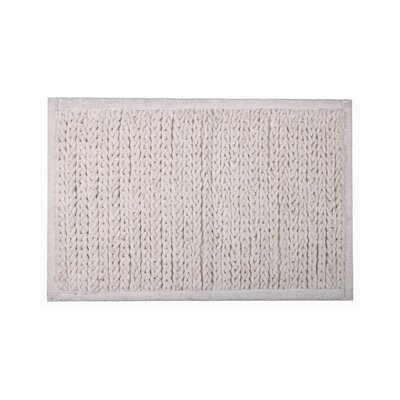 Jovi Home Knitted Chenille Bath Mat