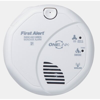 First Alert OneLink Enabled Smoke and Carbon Monoxide Alarm