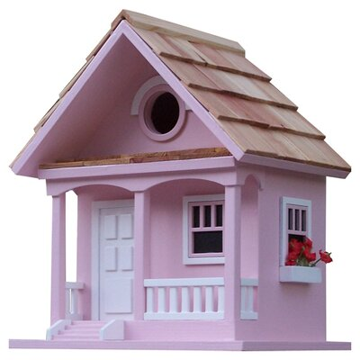 <strong>Home Bazaar</strong> Birds Of A Feather Cottage Birdhouse