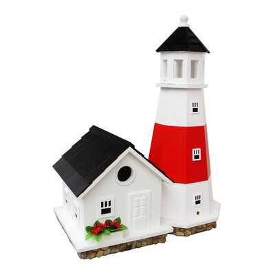 Historic Reproductions Montauk Point Lighthouse Free Standing Birdhouse