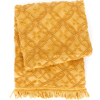 Pine Cone Hill Candlewick Cotton Throw