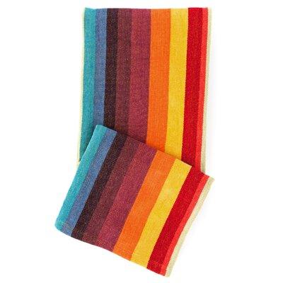 Montego Stripe Chenille Cotton Throw