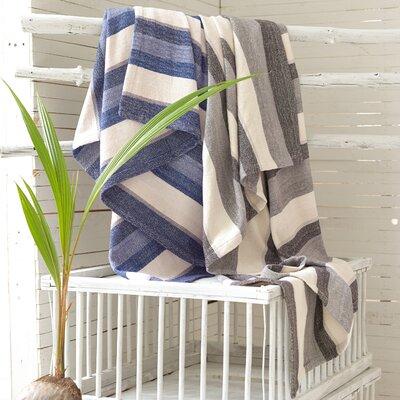 Pine Cone Hill Montego Stripe Chenille Cotton Throw