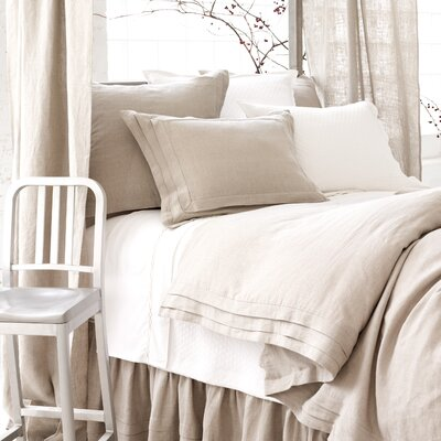 Pleated Linen Bedding Set | Wayfair