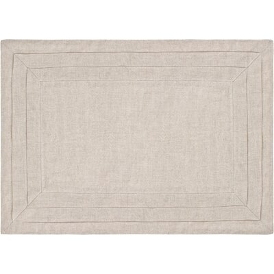 Pine Cone Hill Pleated Linen Placemats in Natural (Set of 4)