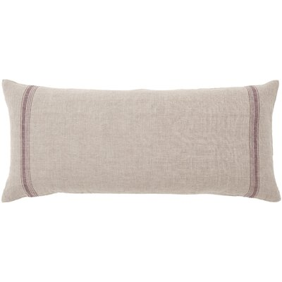 Tea Towel Linen Stripe Double Boudoir Pillow