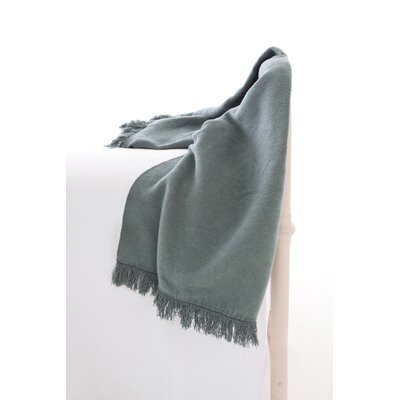 Pine Cone Hill Windsor Fleece Fringed Throw