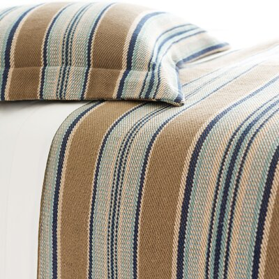 Pine Cone Hill Blue Heron Cotton Blanket Collection
