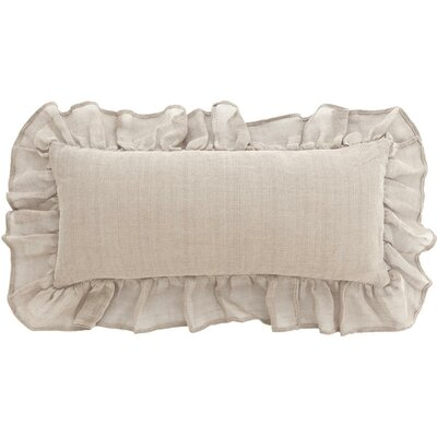 Pine Cone Hill Linen Mesh Double Boudoir Pillow