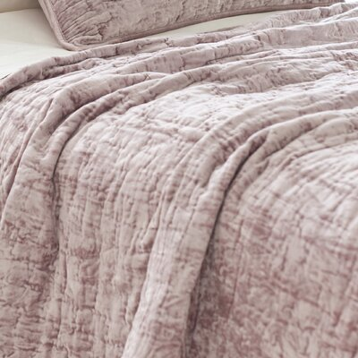 Pine Cone Hill Matte Velvet Quilt Collection