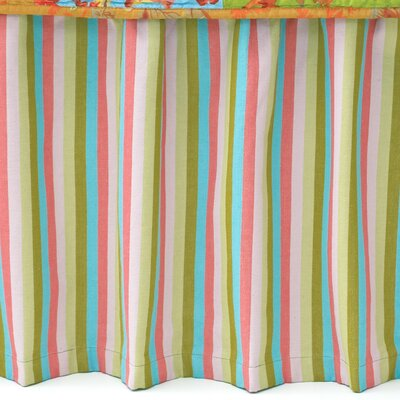 Pine Cone Hill Cabana Stripe Narrow Cotton Bed Skirt