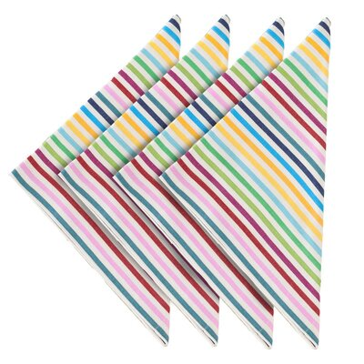 Pine Cone Hill Rainbow Stripe Napkin (Set of 4)