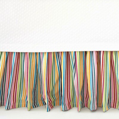 Rainbow Cotton Bed Skirt