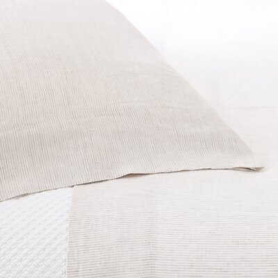Pine Cone Hill Parchment Linen Sheet Set