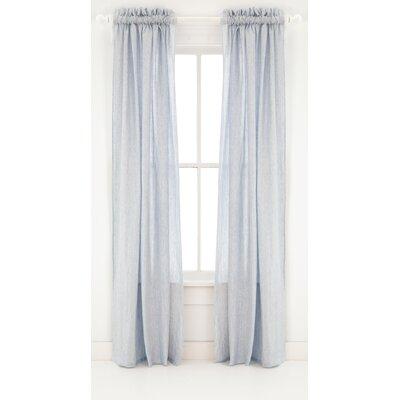 Pine Cone Hill Corsica Linen Rod Pocket Curtain Single Panel