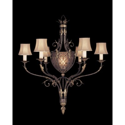 Villa 1919 Six Light Chandelier in Rich Umber