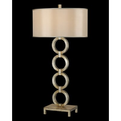 Fine Art Lamps Portobello Road One Light Table Lamp in Platinized Silver