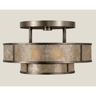 Fine Art Lamps Singapore Moderne 3 Light Semi Flush Mount