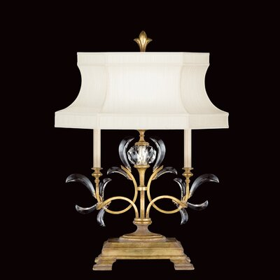 Fine Art Lamps Beveled Arcs 1 Light Table Lamp
