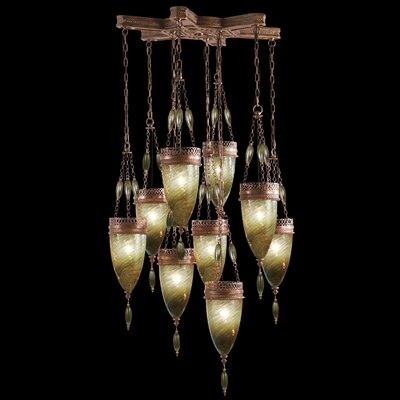 Fine Art Lamps Scheherazade 9 Light Pendant