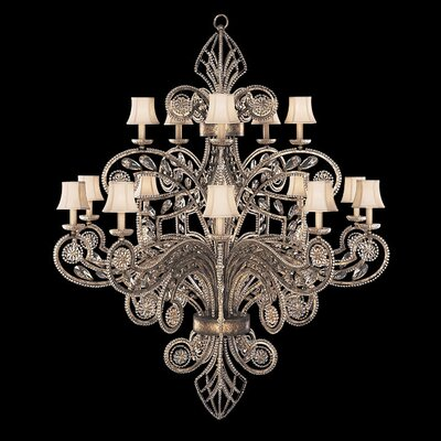 Fine Art Lamps A Midsummer Nights Dream 15 Light Chandelier