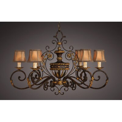 Fine Art Lamps Castile 6 Light Chandelier