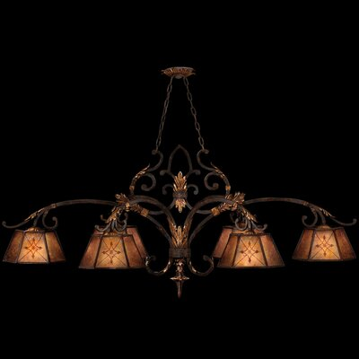 Fine Art Lamps Villa 1919 6 Light Kitchen Island Pendant