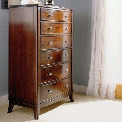 Cresent Furniture Moderne 6 Drawer Chest
