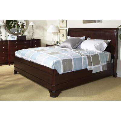 Cresent Furniture Moderne Sleigh Bedroom Collection