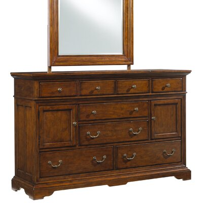 Cresent Furniture Casual Living 8 Drawer Combo Dresser